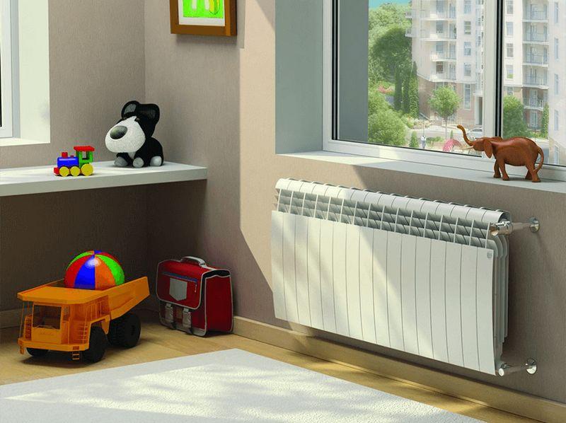 Радиатор отопления Biliner в цветовом исполнении Bianco Traffico (белый)