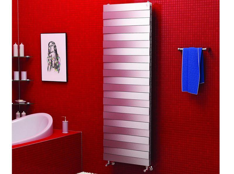 Радиатор отопления PianoForte Tower в цветовом исполнении Silver Satin (серебро)