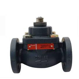 Клапан VFM 2 регулирующий двухходовой фланцевый, Ду 25, Ру 25, Kvs 10 м3/ч, Т=150 °С; чугун, фото