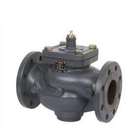 Клапан VFM 2 двухходовой, ф/ф, Ду 100, Ру 16, Kvs 160 м3/ч, Т=150 °С; материал-чугун, фото