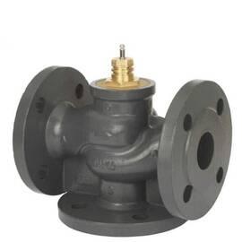 Клапан VF 3 трехходовой, ф/ф, Ду 250, Ру 16, Kvs 1000 м3/ч; T=130 °С, чугун, фото