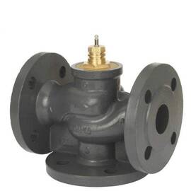 Клапан VF 3 трехходовой, ф/ф, Ду 80, Ру 16, Kvs 100 м3/ч; T=150 °С, чугун, фото
