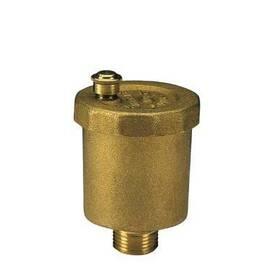 Воздухоотводчик для стояков тип Airvent Ду 15, G½, без обратного клапана;латунь; Т=110°С, фото