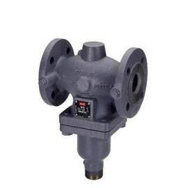 Клапан VFG2 Ду40, Ру40, Kvs 20 м3/ч, универсальный, фланцевый; среда-вода; сталь, Т=200°С, фото