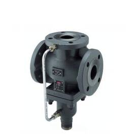 Клапан VFG33 Ду40, Ру16, Kvs 20 м3/ч,регулирующий,смесительный/разделительный,фланец,чугун,Т=200°С, фото