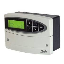 Регулятор температуры для системы отопления ECL 110 с таймером, 230В, с клеммником, фото