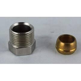Комплект фитингов для медных труб, диаметр трубы 12 мм, наружная резьба, G 3/8 A, фото
