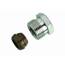 Комплект фитингов для медных труб, диаметр трубы 14 мм, наружная резьба, G ½ A, фото