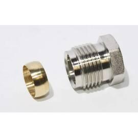 Комплект фитингов для медных труб, диаметр трубы 15 мм, наружная резьба, G ½ A, фото
