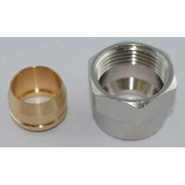 Комплект фитингов для медных труб, диаметр трубы 18 мм, внутренняя резьба, G ¾, фото