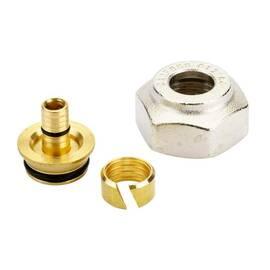 Комплект фитингов для полимерных труб, диаметр трубы 12x2 мм, внутренняя резьба, G ¾, фото
