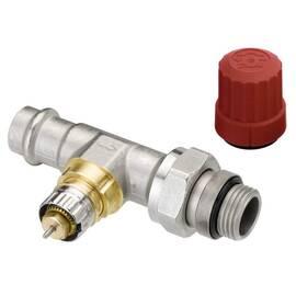 Клапан RA-N Press-15 прямой, никелированный, под прессовое соединение, фото