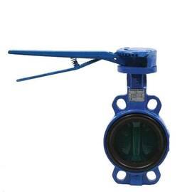 Затвор дисковой поворот. VFY-WH, Ду 100, Ру 16, корпус-чугун(GG25),диск-чугун (GGG40),EPDM,T=120°С, фото