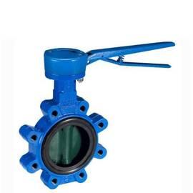 Затвор дисковой поворотный VFY-LH Ду 40, Ру 16, корпус-чугун(GG25), диск- нерж.сталь, EPDM; Т=130 °С, фото