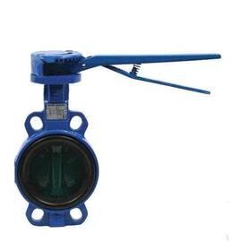 Затвор дисковой поворот. VFY-WH, Ду 100, Ру 16, корпус-чугун(GG25),диск-нерж.сталь,EPDM,T=130°С, фото