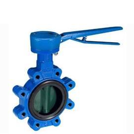 Затвор дисковой поворотный VFY-LH Ду 150, Ру 16, корпус-чугун(GG25),диск- нерж.сталь, EPDM; Т=130 °С, фото