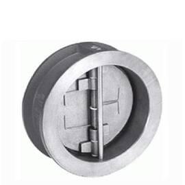 Обратный затвор NVD 895 Ду 200, Ру 16, двустворчатый;корпус-чугун,пластина-нерж. сталь;EPDM; Т=100°С, фото