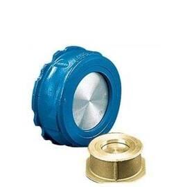Клапан обратный пружинный NVD 812 Ду 80, Ру 40 (полностью из нержавеющей стали), Тмакс.=350 °С, фото