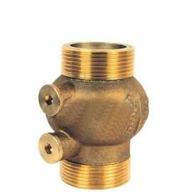 Клапан обратный пружинный типа 223 Ду 50, Ру 16, с наруж. резьбой; материал латунь; Т=80 °С, фото