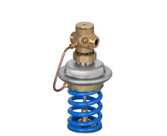 Регулятор давления «до себя» AVA Ду25,Ру25,Kvs8, н/р,диап.настр.1,0–4,5,бронза,Т=150С,с имп.трубкой, фото