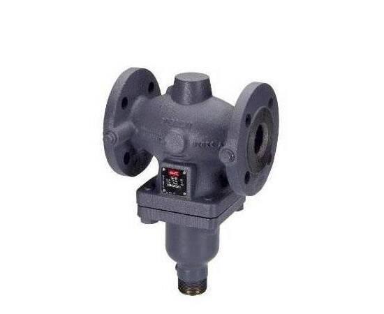 Клапан VFG2 Ду50, Ру40, Kvs 32 м3/ч, универсальный, фланцевый; среда-вода; сталь, Т=200°С, фото