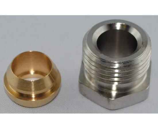 Комплект фитингов для медных труб, диаметр трубы 12 мм, наружная резьба, G ½ A, фото