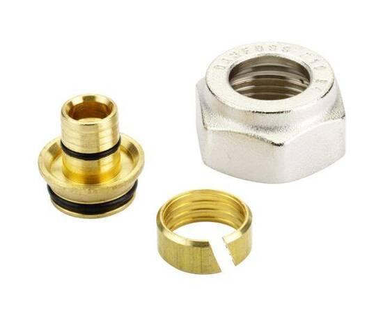 Комплект фитингов для полимерных труб, диаметр трубы 16x1,5 мм, внутренняя резьба, G ¾, фото