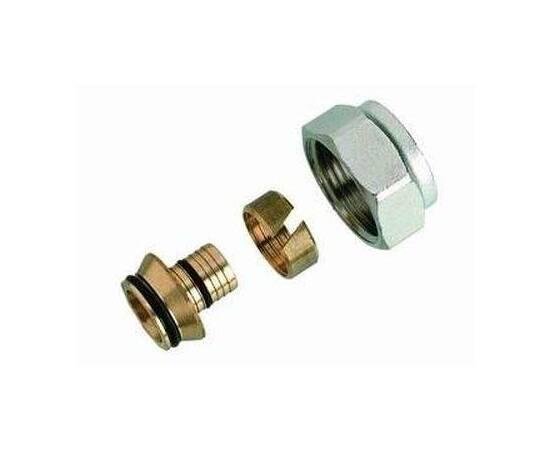 Комплект фитингов для полимерных труб, диаметр трубы 18x2,5 мм, внутренняя резьба, G ¾, фото