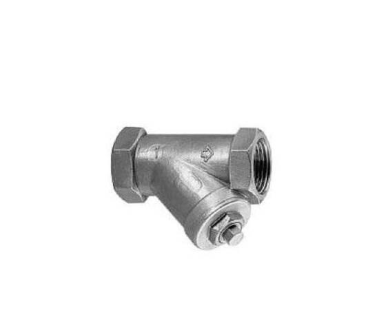 Фильтр сетчатый Y666 Ду 15, Ру 40, с внутренней резьбой; нержавеющая сталь; Т=175°С, фото