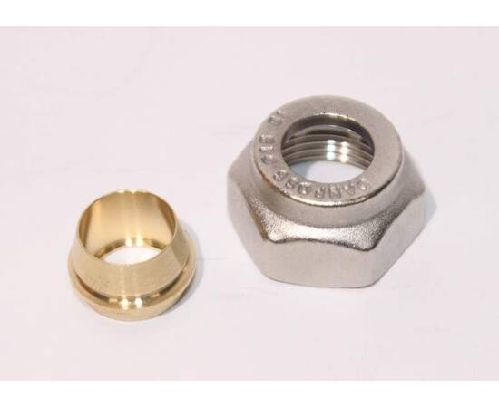 Комплект фитингов для медных труб, диаметр трубы 15 мм, внутренняя резьба, G ¾, фото